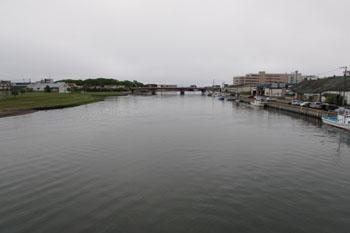 ①網走川の河口
