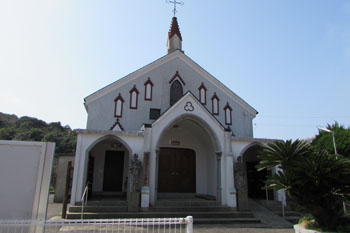 写真④太田尾カトリック教会