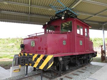 48-2-移設された炭鉱電車-s