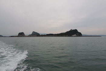 写真④さよなら、大築島