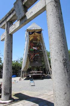 写真③素戔嗚神社にて