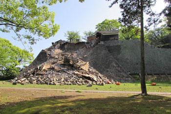 写真 熊本城の一部