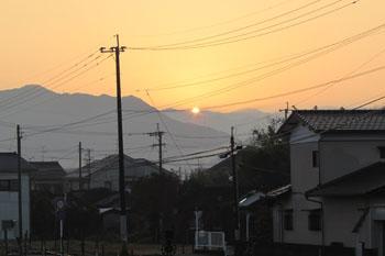写真 初日の出