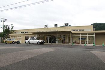 写真①肥薩おれんじ鉄道水俣駅