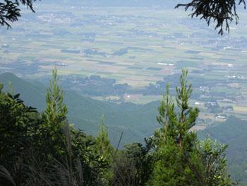 温迫峠からの風景