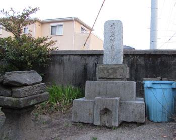 写真③ウミガメの墓
