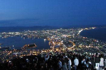 ⑤函館山からの夜景