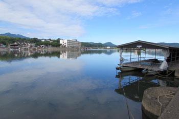 写真②朝の三隈川