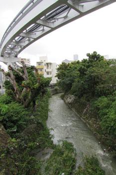 写真①安里二丁目の安里川